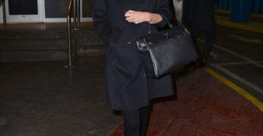 Miranda Kerr Hermes Kelly 25 Sellier Replica Kelly Bag-1
